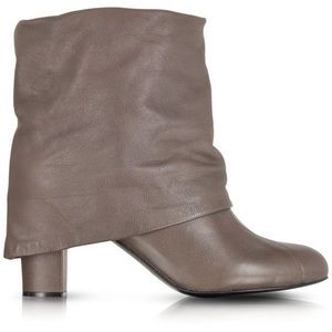 See by Chloe - Melia taupe foldover heeled boots